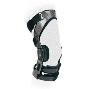 Donjoy Armor Fourcepoint Hinged Knee Brace - ACL Ligament Knee Support - Post Surgery Rehab